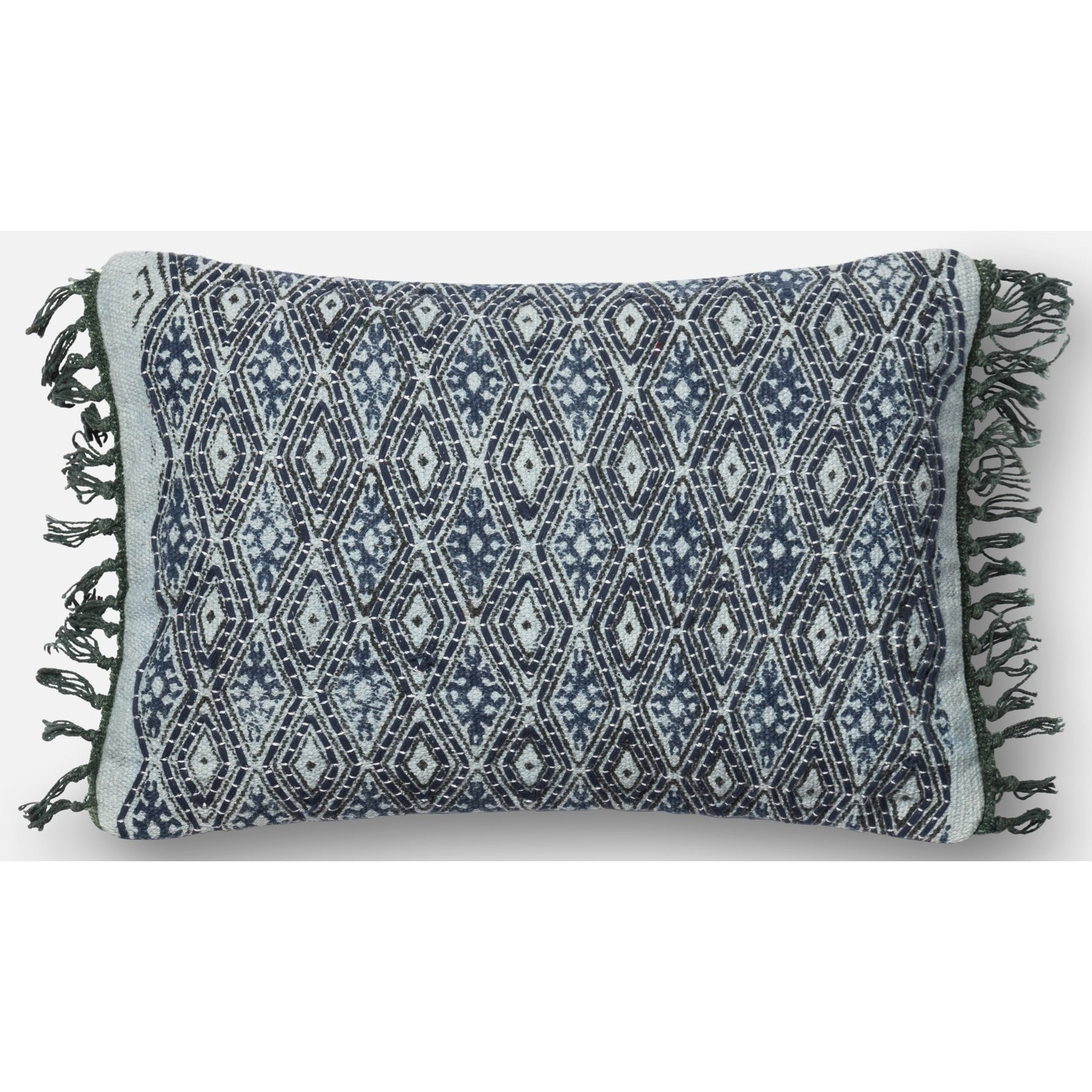 Loloi Rugs Embellished Blue Grey 13 Quot X 21 Quot Polyester