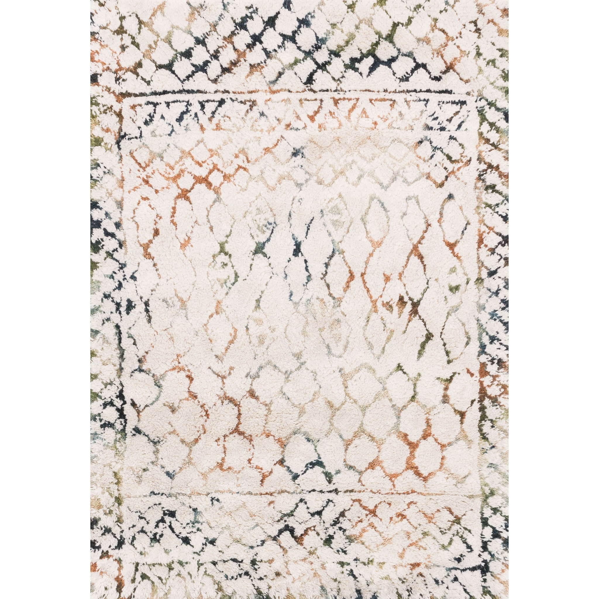 """Loloi Rugs Folklore 9'-3"""" X 13' Area Rug - Item Number: FOLKFW-02IVJD93D0"""