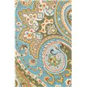 Loloi Rugs Francesca 8x10 Rug - Item Number: FC-09 BLUE-GREEN 8X10 RUG