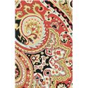 Loloi Rugs Francesca 8x10 Rug - Item Number: FC-09 RED-BLACK 8X10 RUG