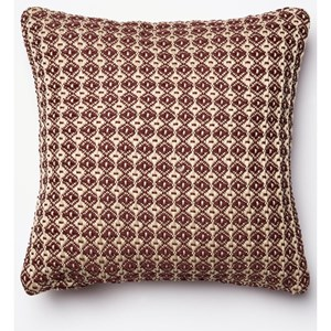 "Loloi Rugs Indoor/Outdoor 18"" X 18"" Down Pillow"