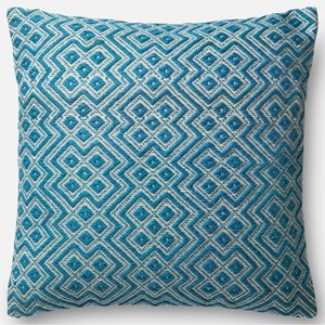 "Loloi Rugs Indoor/Outdoor 22"" X 22"" Down Pillow"
