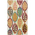 "Loloi Rugs Isabelle 2'-2"" X 5' Area Rug - Item Number: ISBEHIS04IVML2250"
