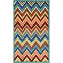 "Loloi Rugs Isabelle 2'-2"" X 5' Area Rug - Item Number: ISBEHIS07TEML2250"