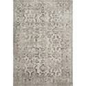 """Reeds Rugs Joaquin 7'10"""" x 7'10"""" Round Silver / Grey Rug - Item Number: JOAQJOA-05SIGY7A0R"""