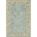"Reeds Rugs Julian 12'0"" x 15'0"" Blue / Gold Rug - Item Number: JULAJI-05BBGOC0F0"