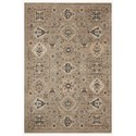 "Reeds Rugs Leigh 5'3"" x 7'6"" Dove / Multi Rug - Item Number: LEIGLEI-02DVML5376"