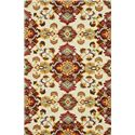 Loloi Rugs MAYFIELD 5x8 Rug - Item Number: MF-05 MULTI-RED 5X8 RUG