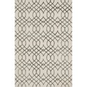 "Reeds Rugs Panache 3'-6"" x 5'-6"" Area Rug - Item Number: PANAPC-02IVGY3656"