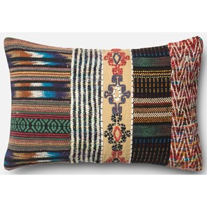 """Loloi Rugs Patchwork 13"""" X 21"""" Down Pillow"""