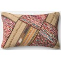 "Loloi Rugs Patchwork 13"" X 21"" Down Pillow - Item Number: DSETP0292ML00PIL5"