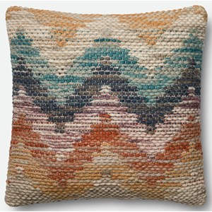 """Loloi Rugs Patchwork 22"""" X 22"""" Down Pillow"""