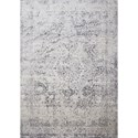 "Loloi Rugs Patina 5'-3"" X 5'-3"" Round Rug - Item Number: PATIPJ-03SILC530R"