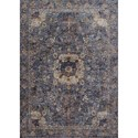 "Loloi Rugs Porcia 7'-10"" X 7'-10"" Round Rug - Item Number: PORCPB-01BBBB7A0R"