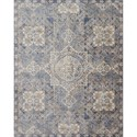 """Loloi Rugs Porcia 7'-10"""" X 7'-10"""" Round Rug - Item Number: PORCPB-02BBBB7A0R"""