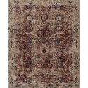 "Loloi Rugs Porcia 7'-10"" X 10' Area Rug - Item Number: PORCPB-08REBE7AA0"