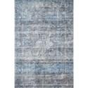 """Reeds Rugs Rumi 2'6"""" x 7'6"""" Blue Rug - Item Number: RUMIRUM-02BB002676"""