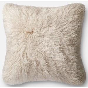 """Loloi Rugs Shag 22"""" X 22"""" Down Pillow"""