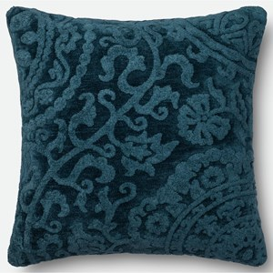 "Loloi Rugs String Theory 22"" X 22"" Down Pillow"