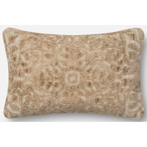"Loloi Rugs String Theory 1'-2"" X 1'-10"" Down Pillow"
