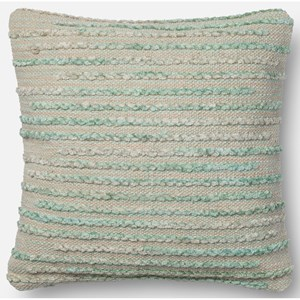 "Loloi Rugs String Theory 18"" X 18"" Down Pillow"