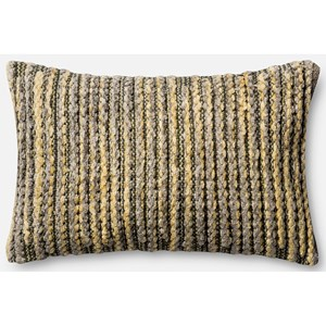 "Loloi Rugs String Theory 1' X 1'-10"" Down Pillow"