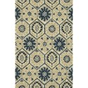 "Loloi Rugs Taylor 5'-0"" x 7'-6"" Area Rug - Item Number: TAYLHTY06IVNV5076"