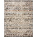 """Reeds Rugs Theia 7'10"""" x 10' Taupe / Multi Rug - Item Number: THEITHE-03TAML7AA0"""