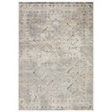 """Reeds Rugs Theory 2'7"""" x 10'10"""" Grey / Sand Rug - Item Number: THRYTHY-05GYSA27AA"""
