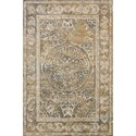 "Loloi Rugs Torrance 2'-7"" X 10'-0"" Rug Runner - Item Number: TORRTC-10BEGY27A0"