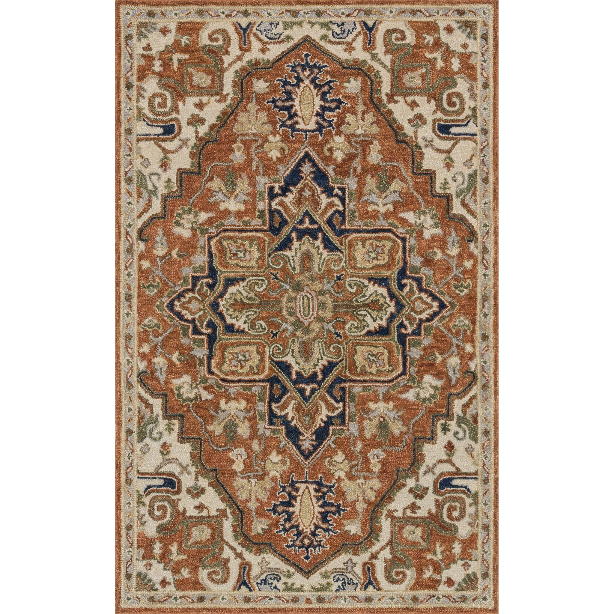 "Loloi Rugs Underwood 5'-0"" X 7'-6"" Rug - Item Number: UNDEUN-02RUSN5076"