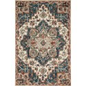 "Reeds Rugs Victoria 2'3"" x 3'9"" Blue / Red Rug - Item Number: VITRVK-16BBRE2339"