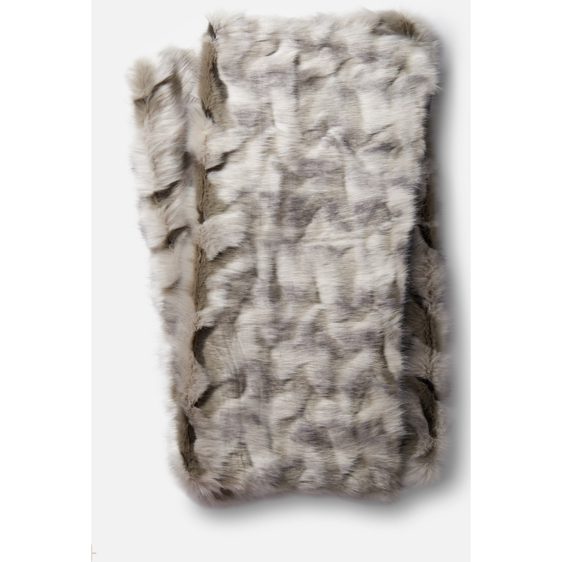 Loloi Rugs Zora Grey 100 Acrylic Throw Blanket Belfort