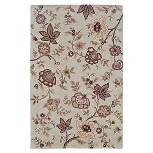 LR Resources Dazzle 5 x 7.9 Area Rug : Ivory