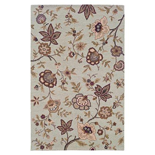 LR Resources Dazzle 8 x 10 Area Rug : Ivory - Item Number: 907003141