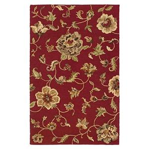 5 x 7.9 Area Rug : Red