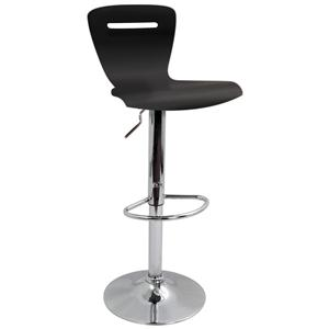 LumiSource Bar Tables and Stools  Black H2 Barstool