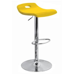 LumiSource Bar Tables and Stools  Surf Barstool Yellow