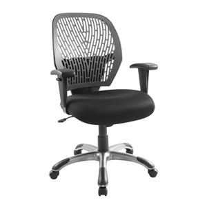 LumiSource Home Office Grey/Black Cyber Office Chair