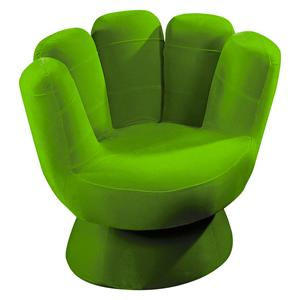 LumiSource Kids And Teen Furniture Mini Mitt Upholstered Chair