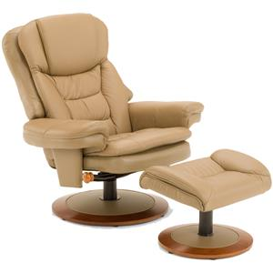 Delicieux Casual Chair And Ottoman Set With Pillow Top Arms