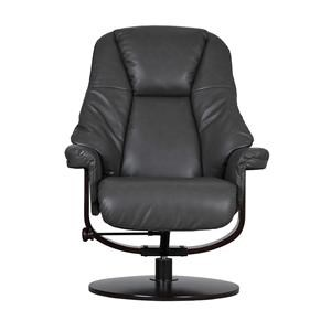 Push Back Chair and Ottoman
