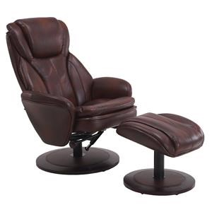 Mac Motion Chairs Mac Motion Chairs Norway Reclining Chair & Ottoman