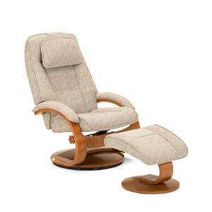 Mac Motion Chairs Oslo Collection Bergen Chair and Ottoman