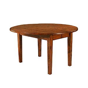 MacKenzie Dow English Pub 52 Inch Drop Leaf Extension Table