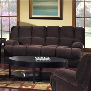 Madison Park 201 Group Plush Sofa with Rolled Arms