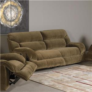 Madison Park 266 Sofa with Power Recliner