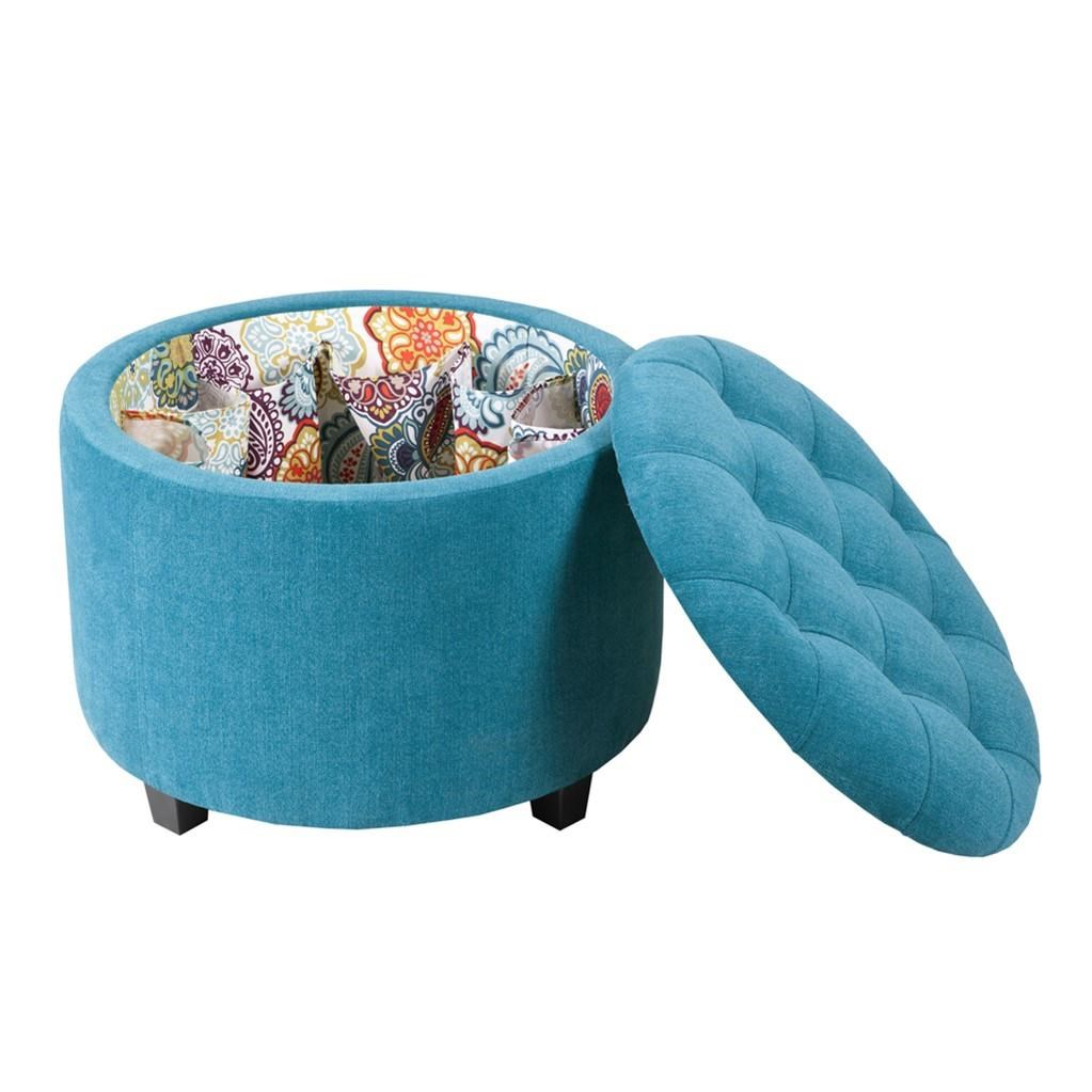 Madison Park Accessories Storage Ottoman w/ Shoe Insert - Item Number: FPF18-0211