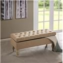 Madison Park Accessories Tufted Storage Ottoman