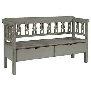 Magnolia Home By Joanna Gaines Accent Elements Bench With Storage